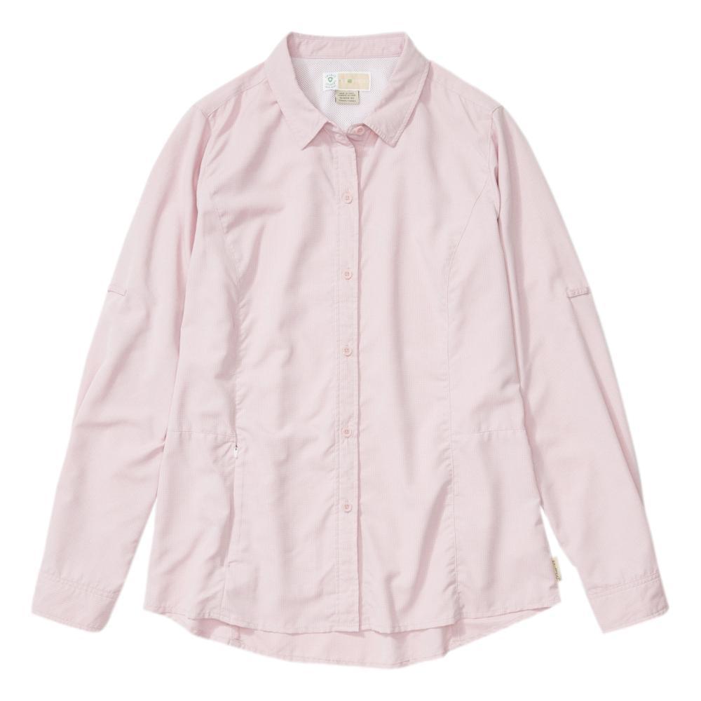 ExOfficio Women's BugsAway Brisa Long Sleeve Shirt PINKSAND_4698