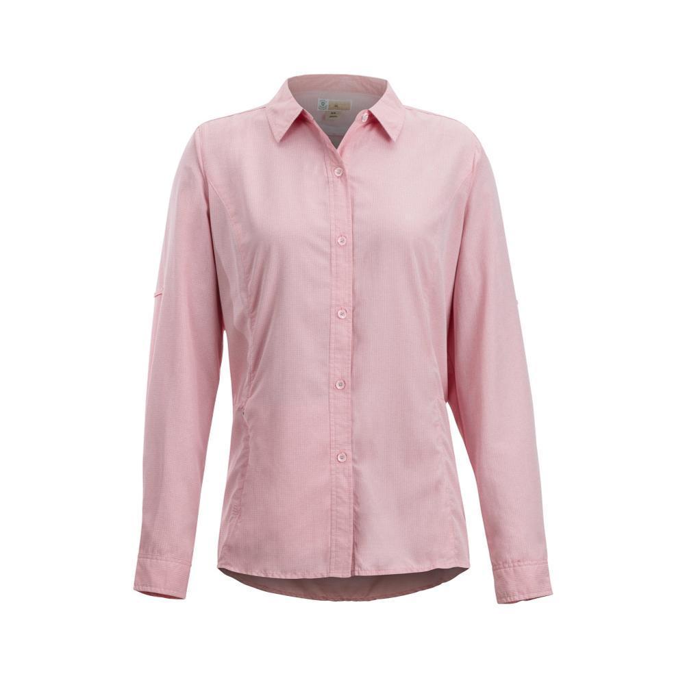 ExOfficio Women's BugsAway Brisa Long Sleeve Shirt SPICECORAL