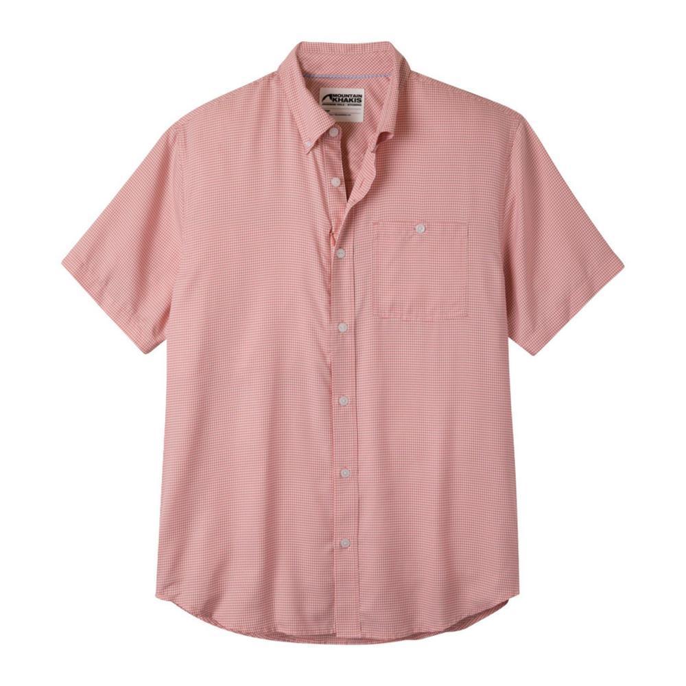 Mountain Khakis Men's Passport EC Short Sleeve Shirt SUMRED