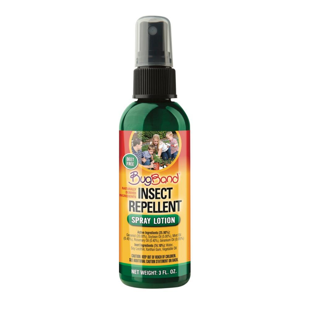 BugBand Pump Spray Lotion Insect Repellent - 3oz .