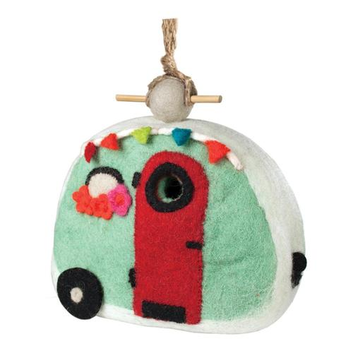 Tibet Collection Birdhouse: Retro Camper