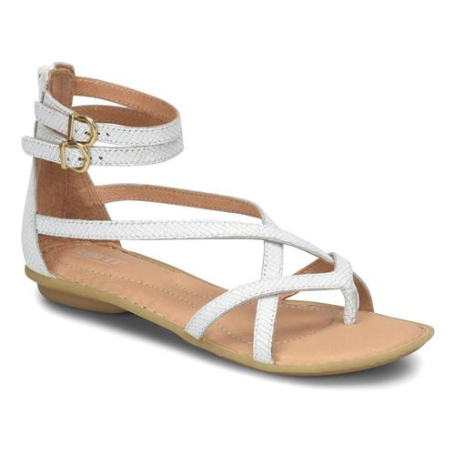 Born Women's Mai Gladiator Sandals White