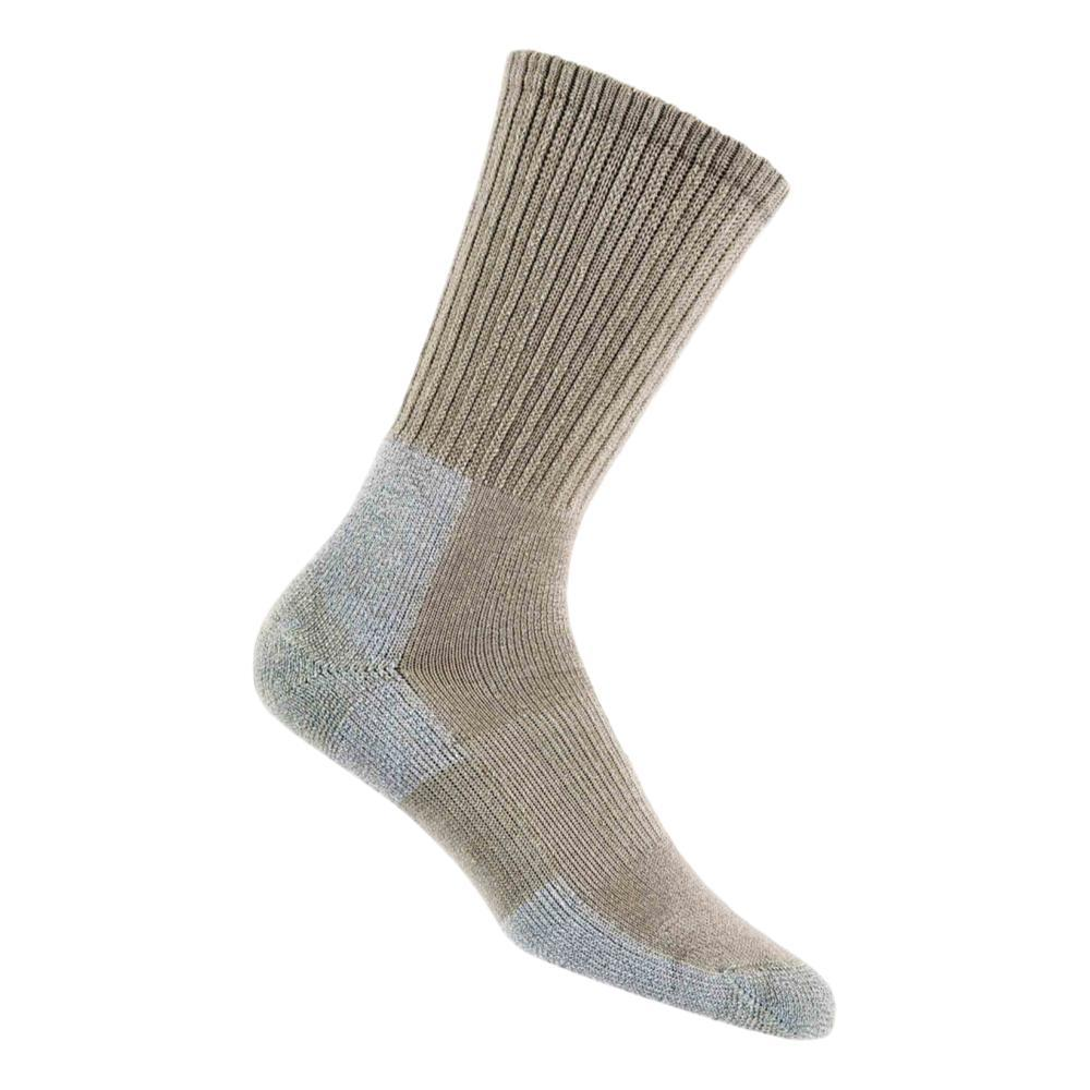 Thorlos Men's TRHXM Trail Hiking Crew Socks KHAKI