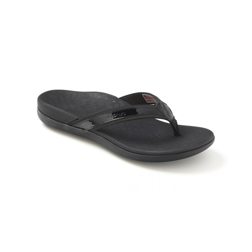 Vionic Women's Tide II Toe Post Sandals BLACK