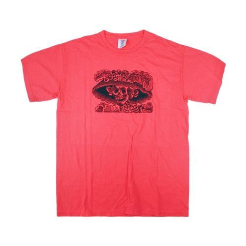 Whole Earth Provision Unisex Classic Catrina T-Shirt Paprika