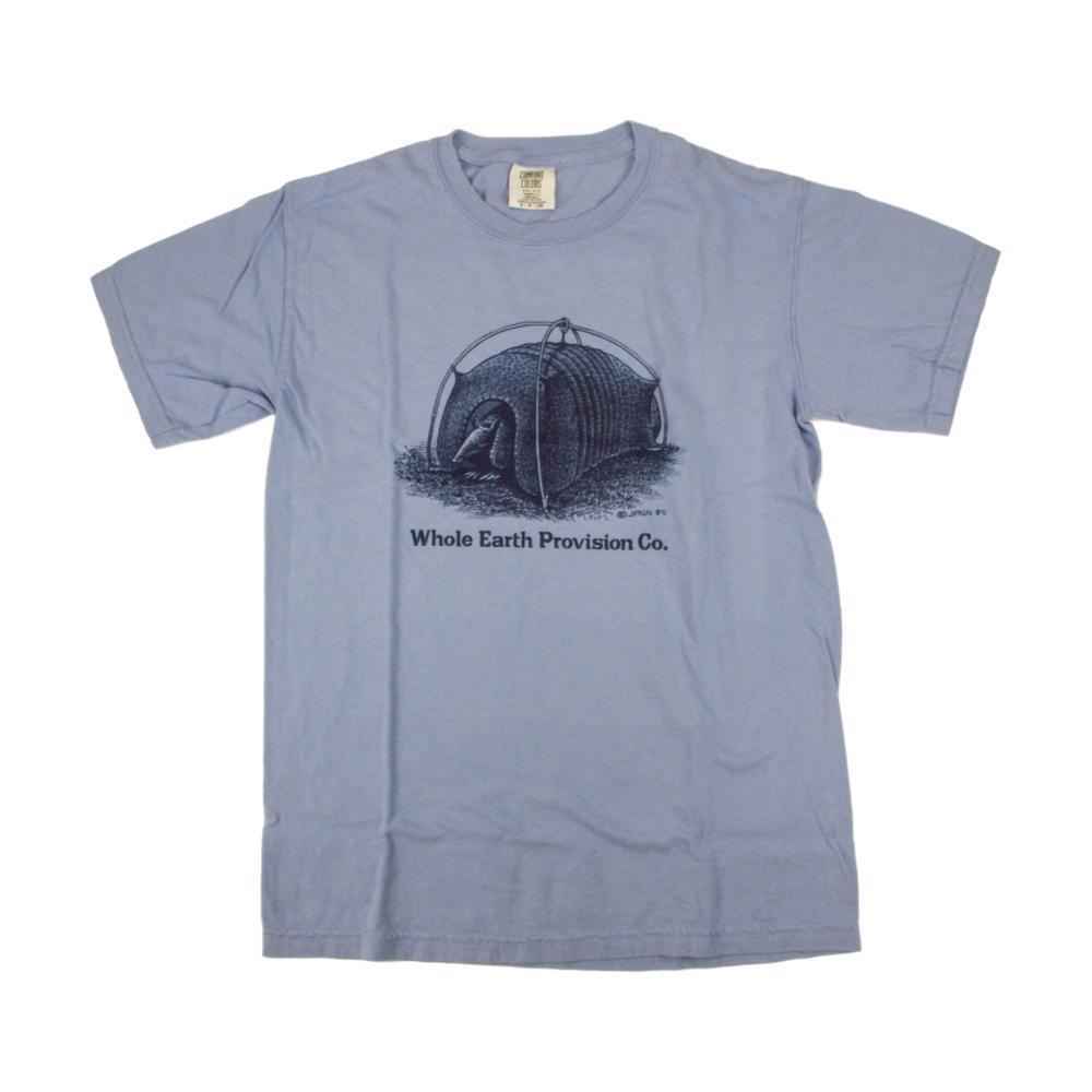 Whole Earth Provision Unisex Classic Armadillo T-Shirt WASHDENIM