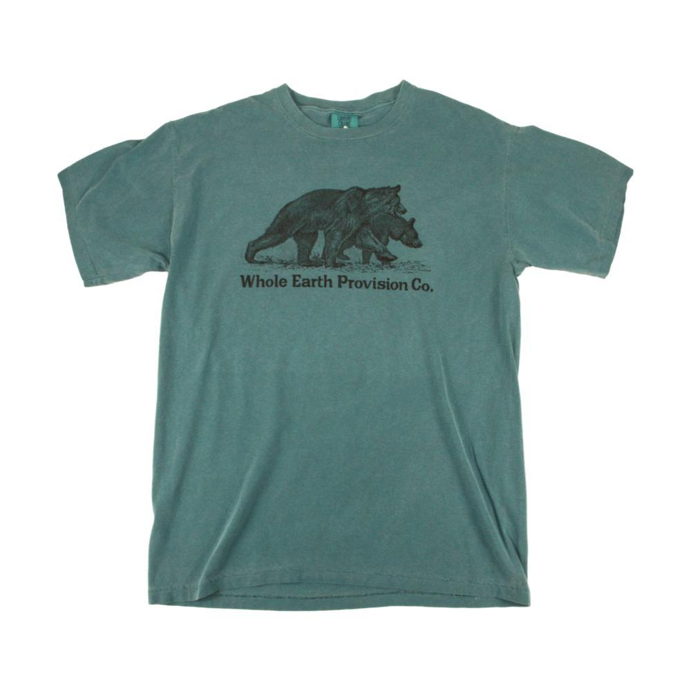 Whole Earth Provision Unisex Classic Bear T-Shirt EMERALD