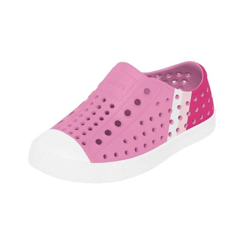 Native Youth Jefferson Block Shoes Pink_wht