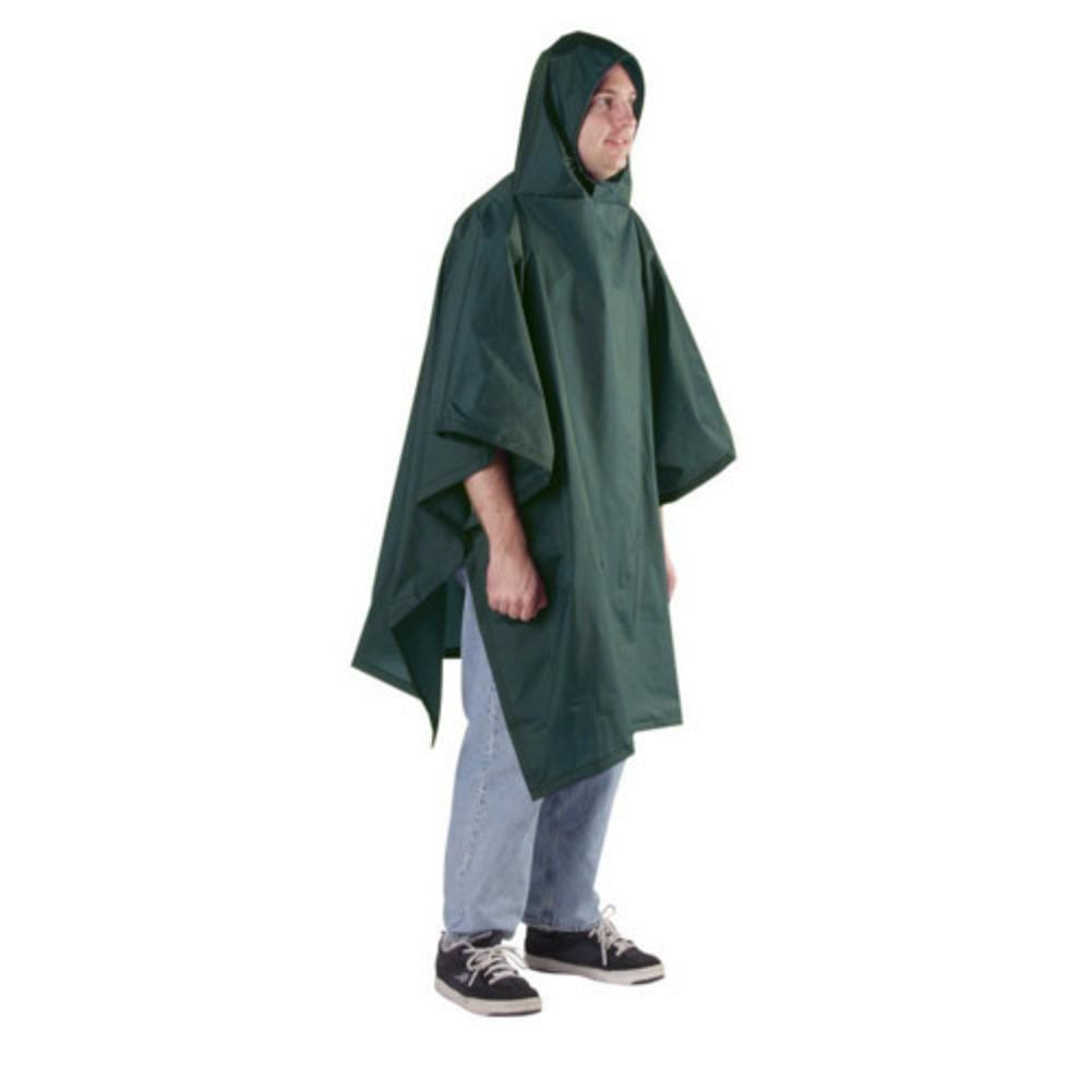 Outdoor Products Backpacker Poncho - 56 x 94 GREEN_015