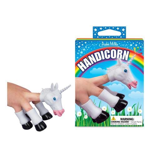 Archie McPhee Handicorn - Unicorn Finger Puppet