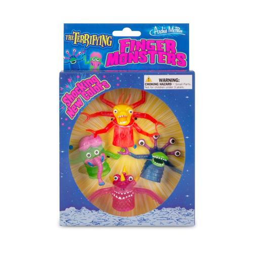 Archie McPhee Deluxe Finger Monster Boxed Set