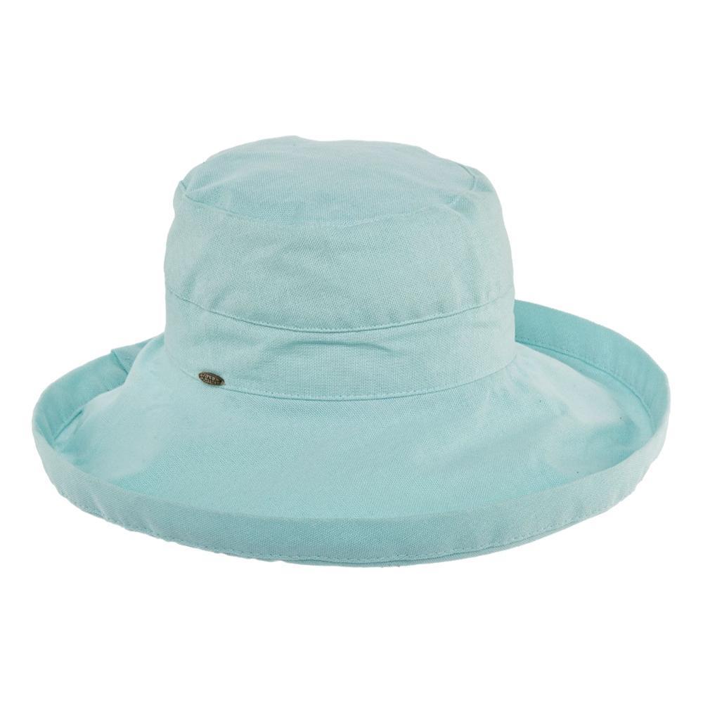 Dorfman Pacific Women's Big Brim Bucket Hat AQUA