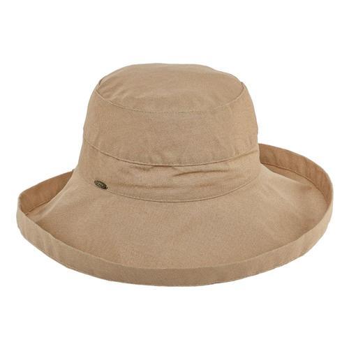 Dorfman Pacific Women's Big Brim Bucket Hat Desert