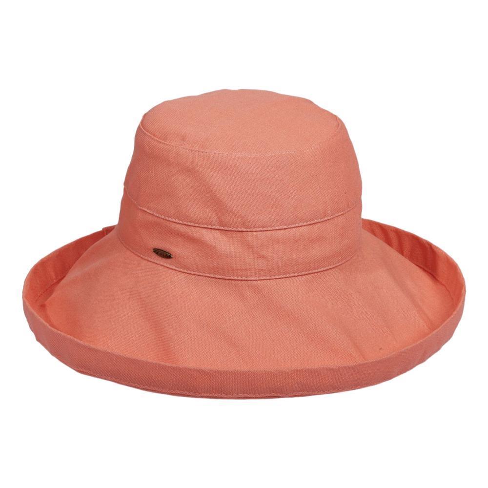 Dorfman Pacific Women's Big Brim Bucket Hat GRAPEFRUIT