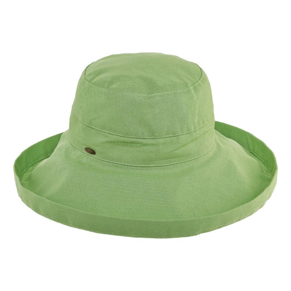 Dorfman Pacific Women's Big Brim Bucket Hat LIME