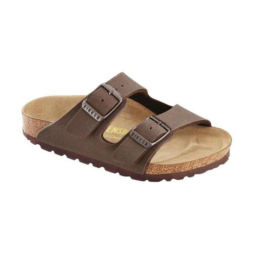 Birkenstock Kids Arizona Birko-Flor Sandals Mocha