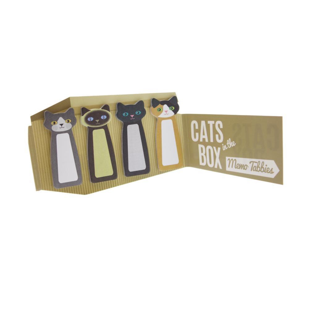 Streamline Cats in the Box Memo Tabbies .