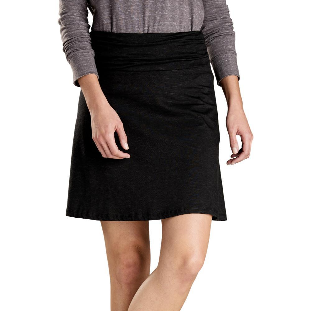 Toad&Co Women's Chaka Skirt BLACK