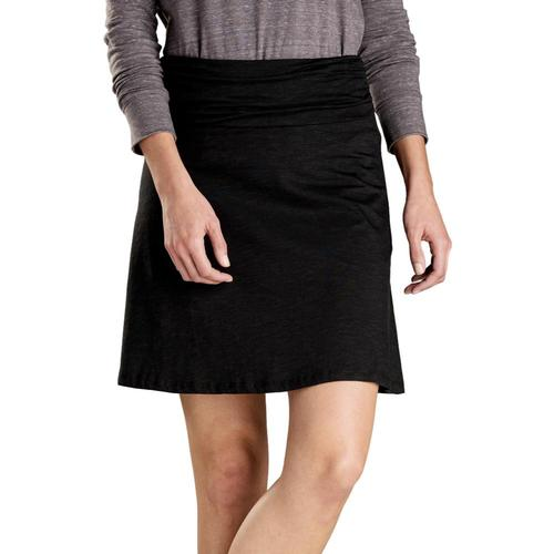 Toad&Co Women's Chaka Skirt Black