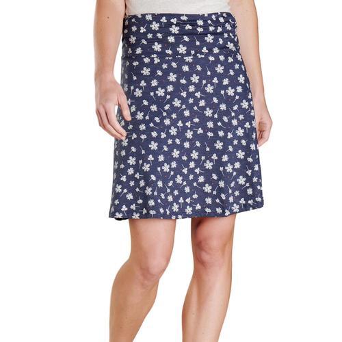 Toad&Co Women's Chaka Skirt Truenavy_482