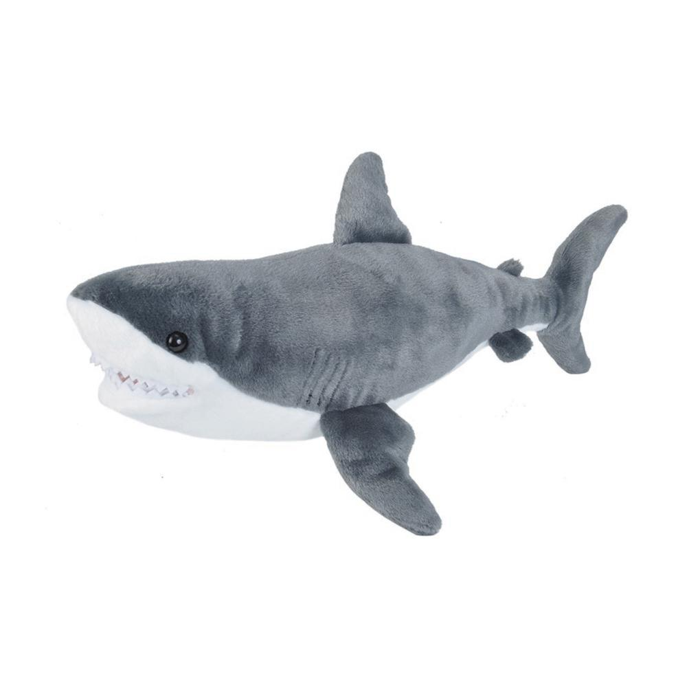 Wild Republic Cuddlekins 15in Great White Shark Stuffed Animal