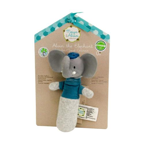 Great Pretenders Alvin the Elephant Squeaker Toy