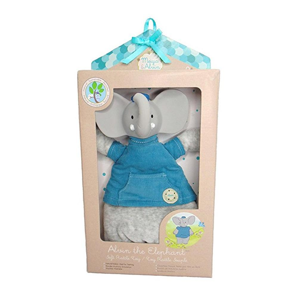 Great Pretenders Alvin The Elephant Teether Toy