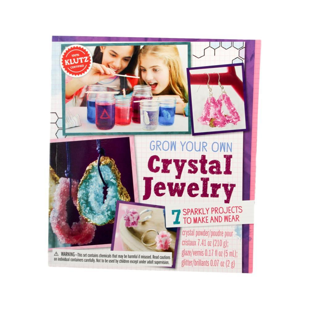 Klutz Grow Your Own Crystal Jewelry Kit