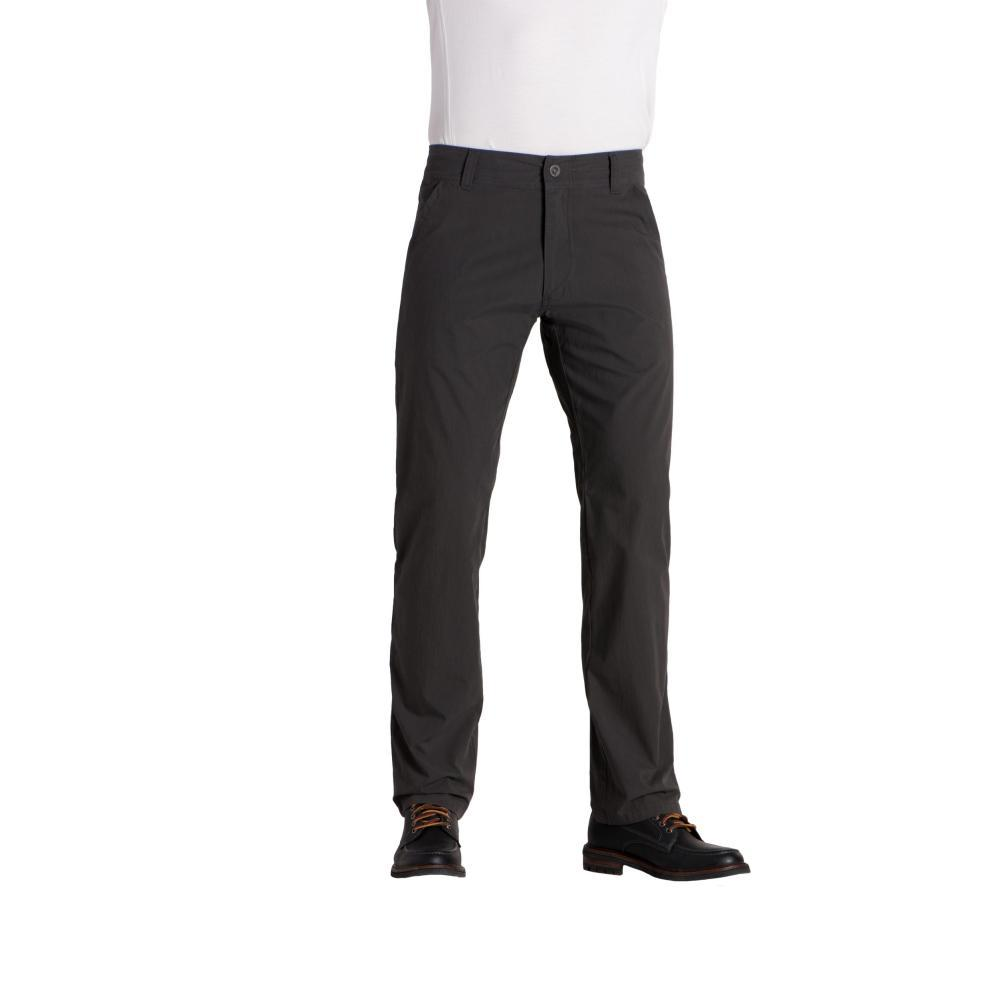 KUHL Men's Slax Pants - 32in Inseam CARBON