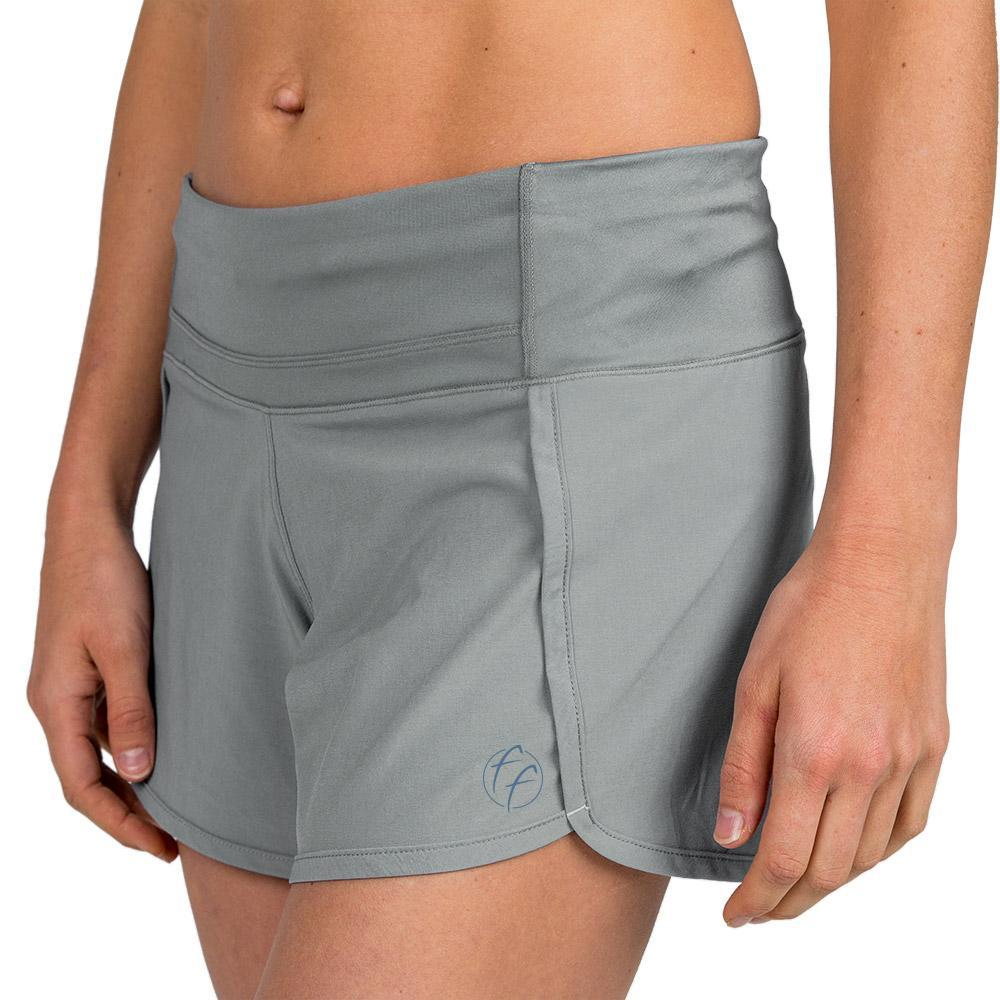 Free Fly Women's Bamboo-Lined Breeze Shorts CEMENT