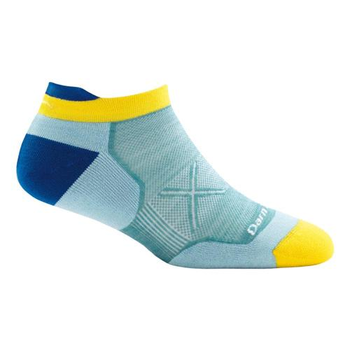 Darn Tough Women's Vertex No Show Tab Ultra Light Cushion Socks Lightblue