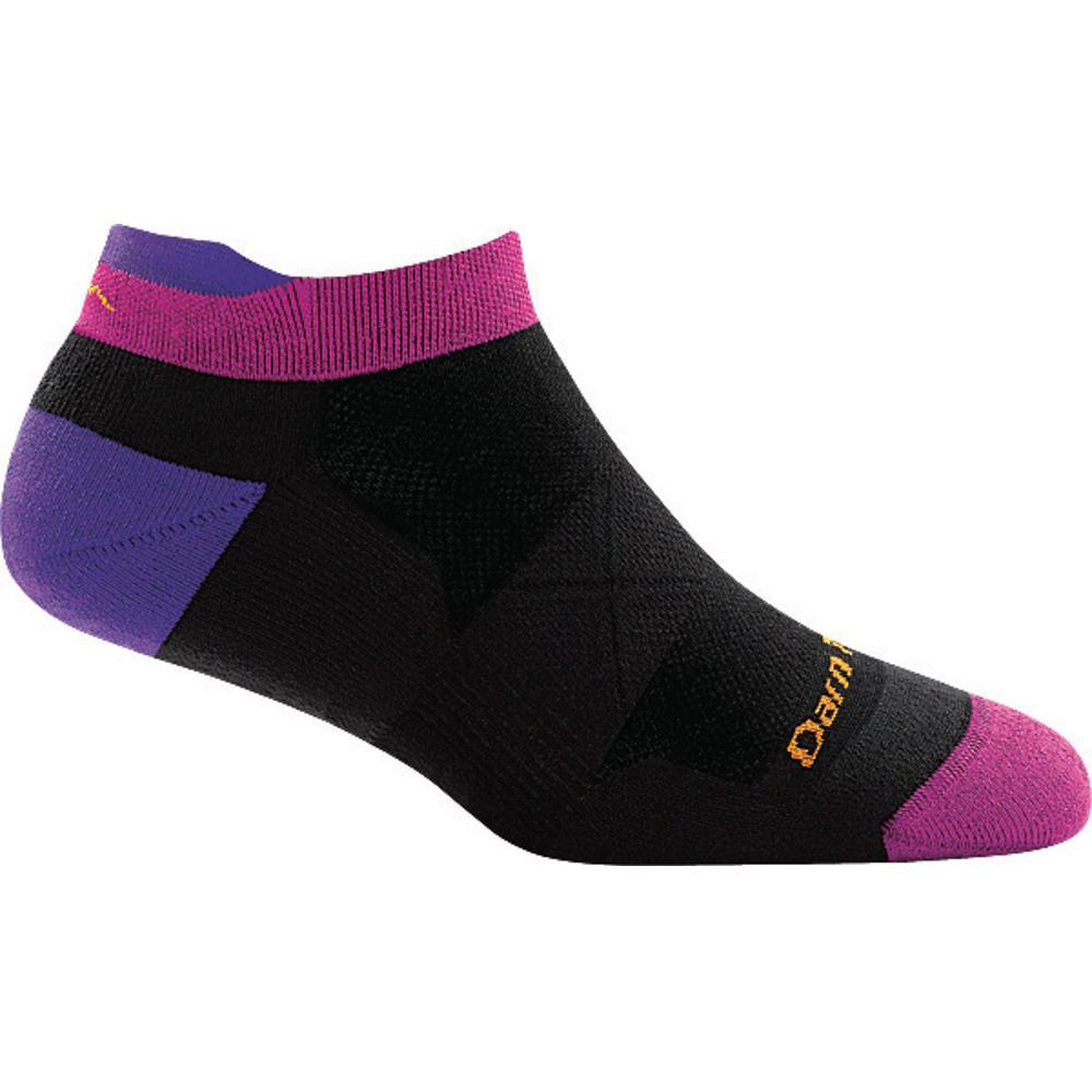 Darn Tough Women's Vertex No Show Tab Ultra-Light Cushion Socks BLACK