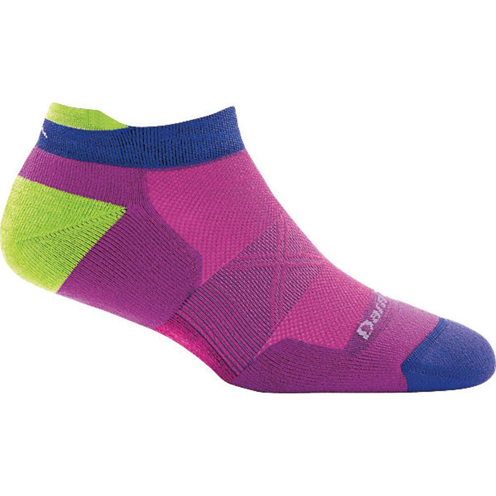 Darn Tough Women's Vertex No Show Tab Ultra-Light Cushion Socks CLOVER