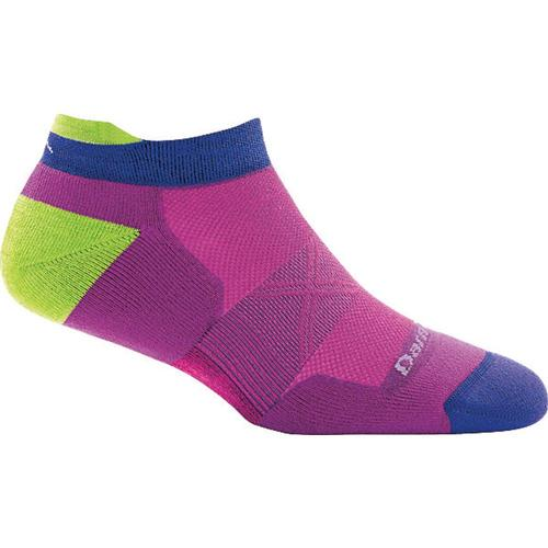 Darn Tough Women's Vertex No Show Tab Ultra Light Socks Clover