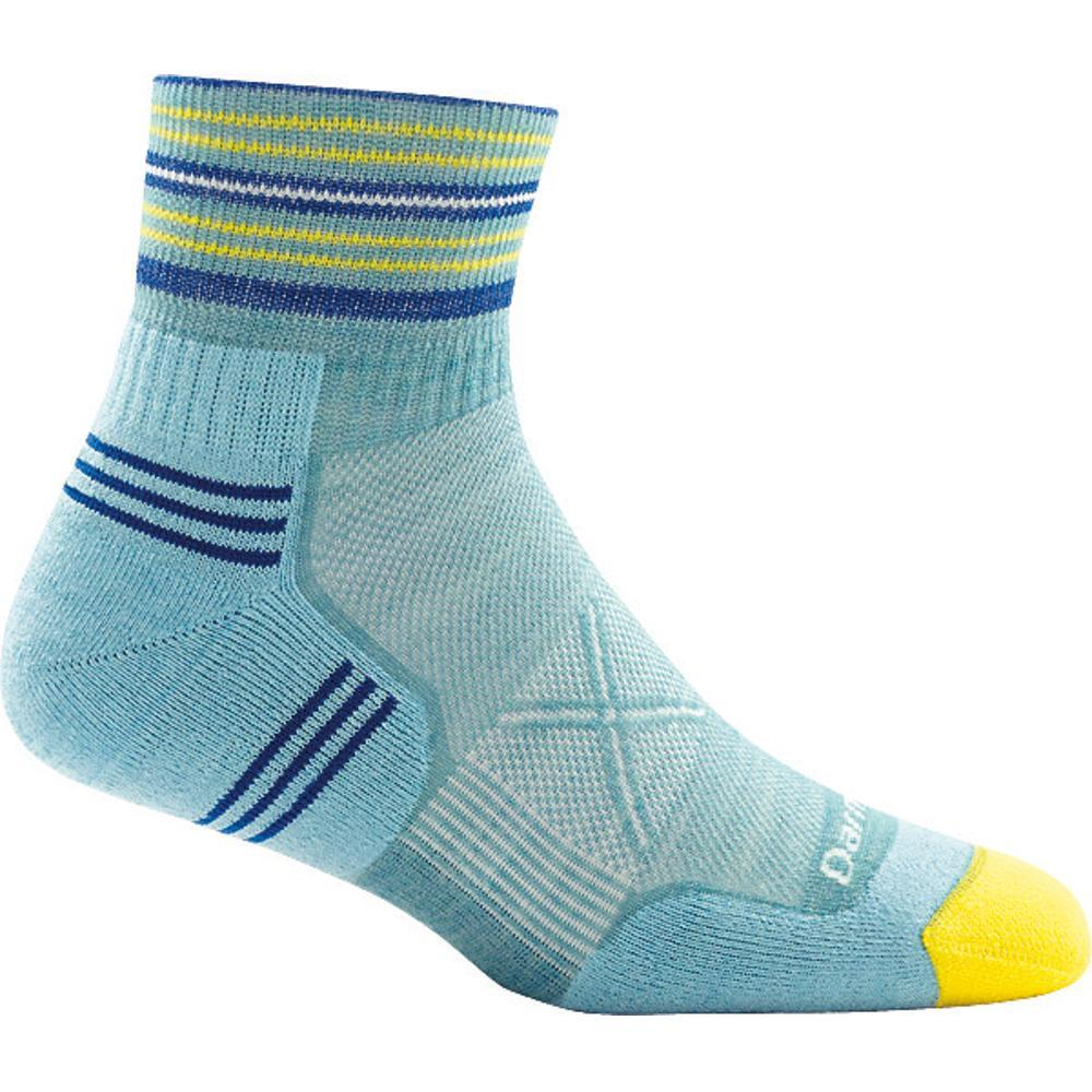 Darn Tough Women's Vertex 1/4 Ultra-Light Cushion Socks LIGHTBLUE