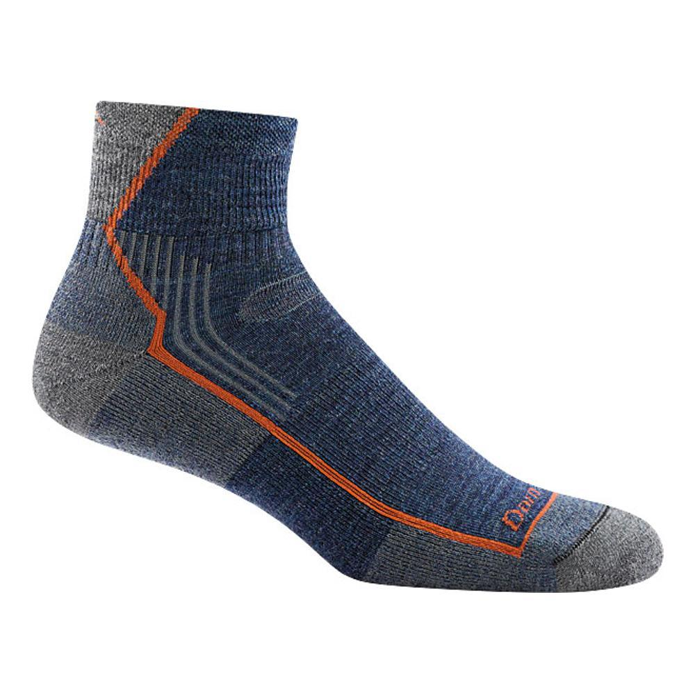Darn Tough Men's Hiker 1/4 Cushion Socks DENIM