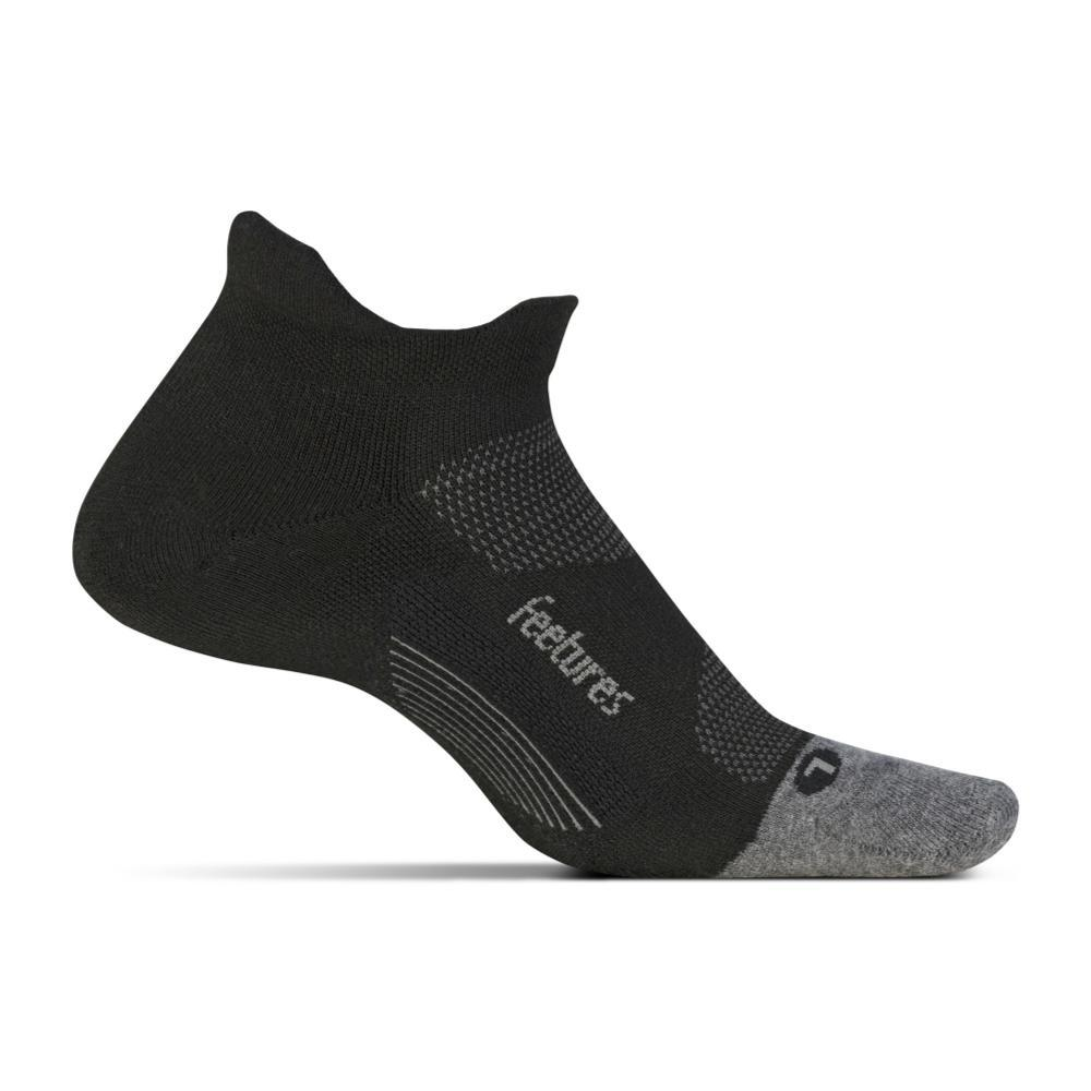 Feetures Unisex Elite Max Cushion No Show Tab Socks BLACK