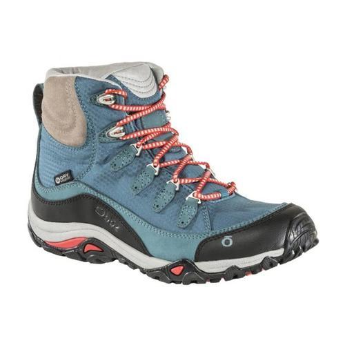 Oboz Women's Juniper Mid B-Dry Hiking Boots Glacier