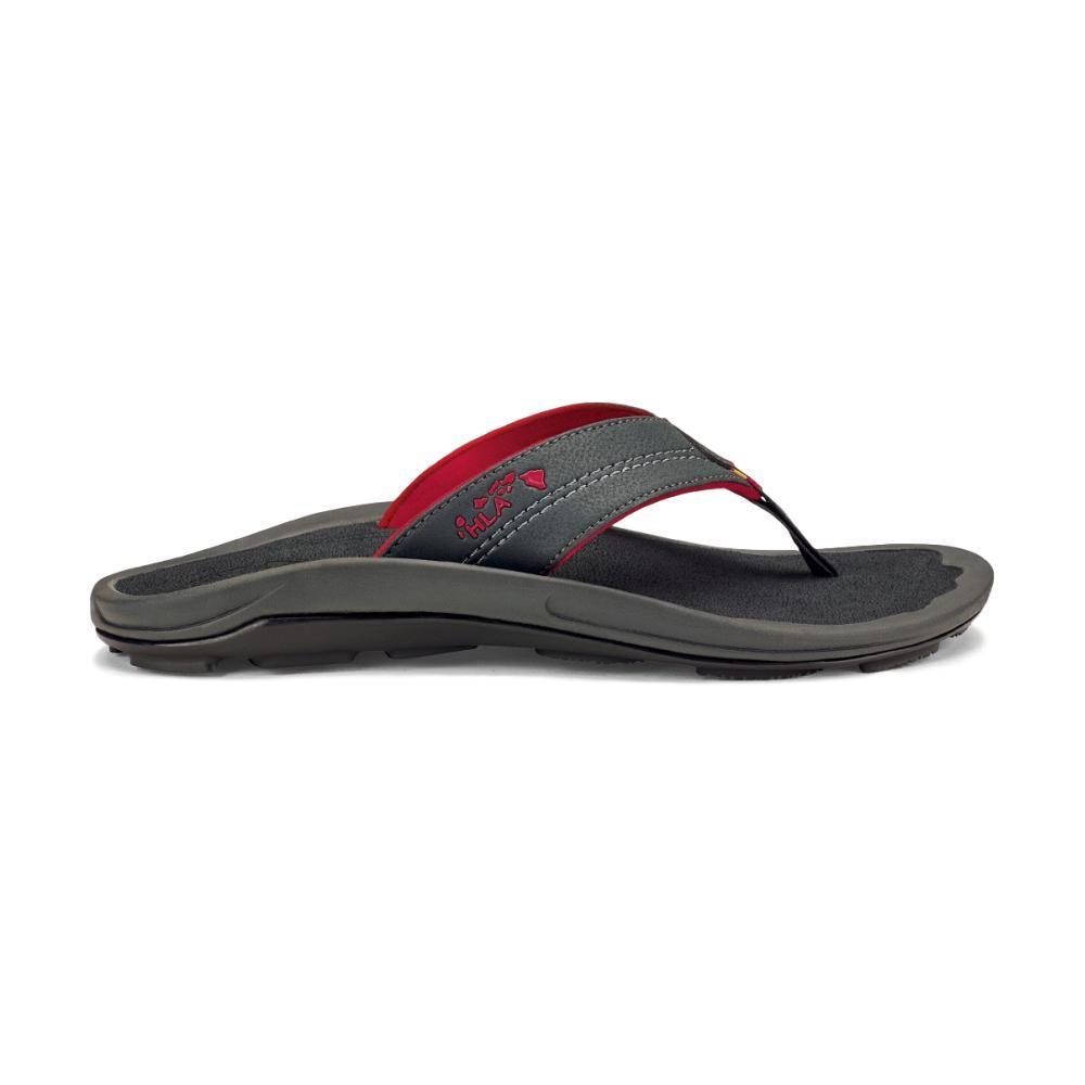 OluKai Men's Kipi Flip Sandals DRKSHADOW