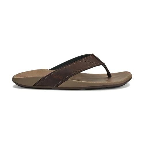OluKai Men's Nui Sandals Dkwd.Clay