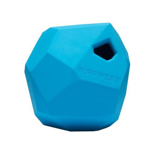 Ruffwear Gnawt-a-Rock Rubber Dog Toy Metolius.Blue