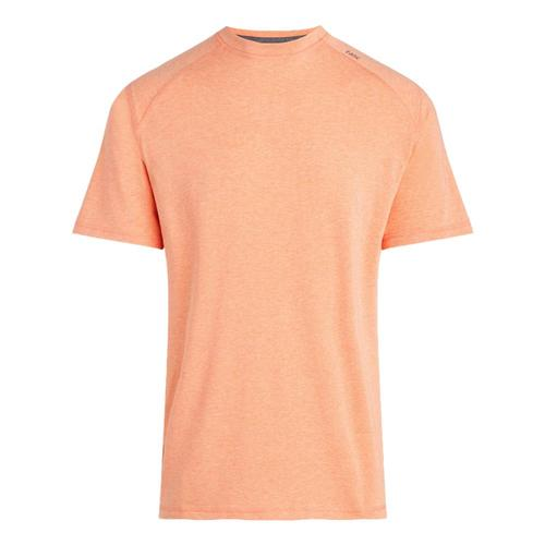 tasc Men's Carrollton Heather Performance Crew T-Shirt Citrus_832