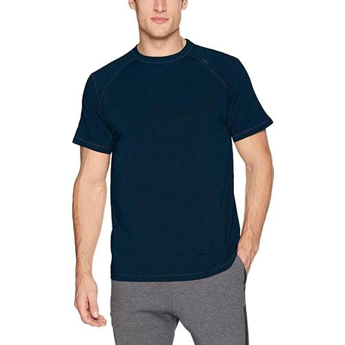 tasc Men's Carrollton Heather Performance Crew T-Shirt Clnavy417
