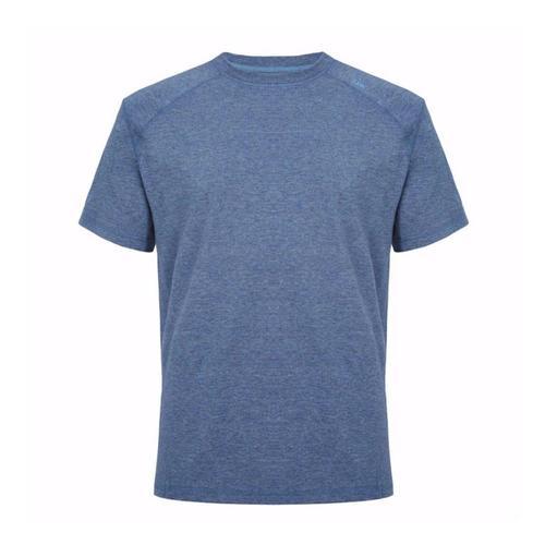tasc Men's Carrollton Heather Performance Crew T-Shirt Indigohthr