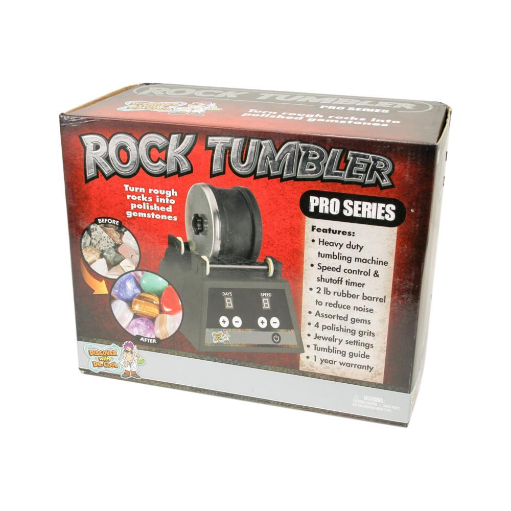 Discover With Dr.Cool Pro Series Rock Tumbler