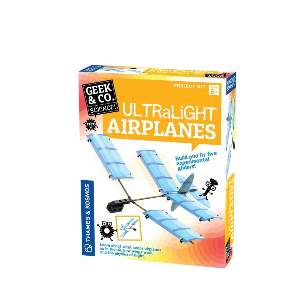 Geek & Co.Science Ultralight Airplanes Project Kit