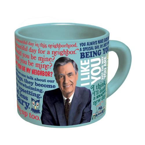 Unemployed Philosophers Guild Mister Rogers Mug