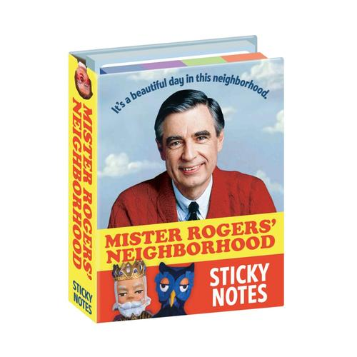 Unemployed Philosophers Guild Mister Rogers' Neighborhood Sticky Notes