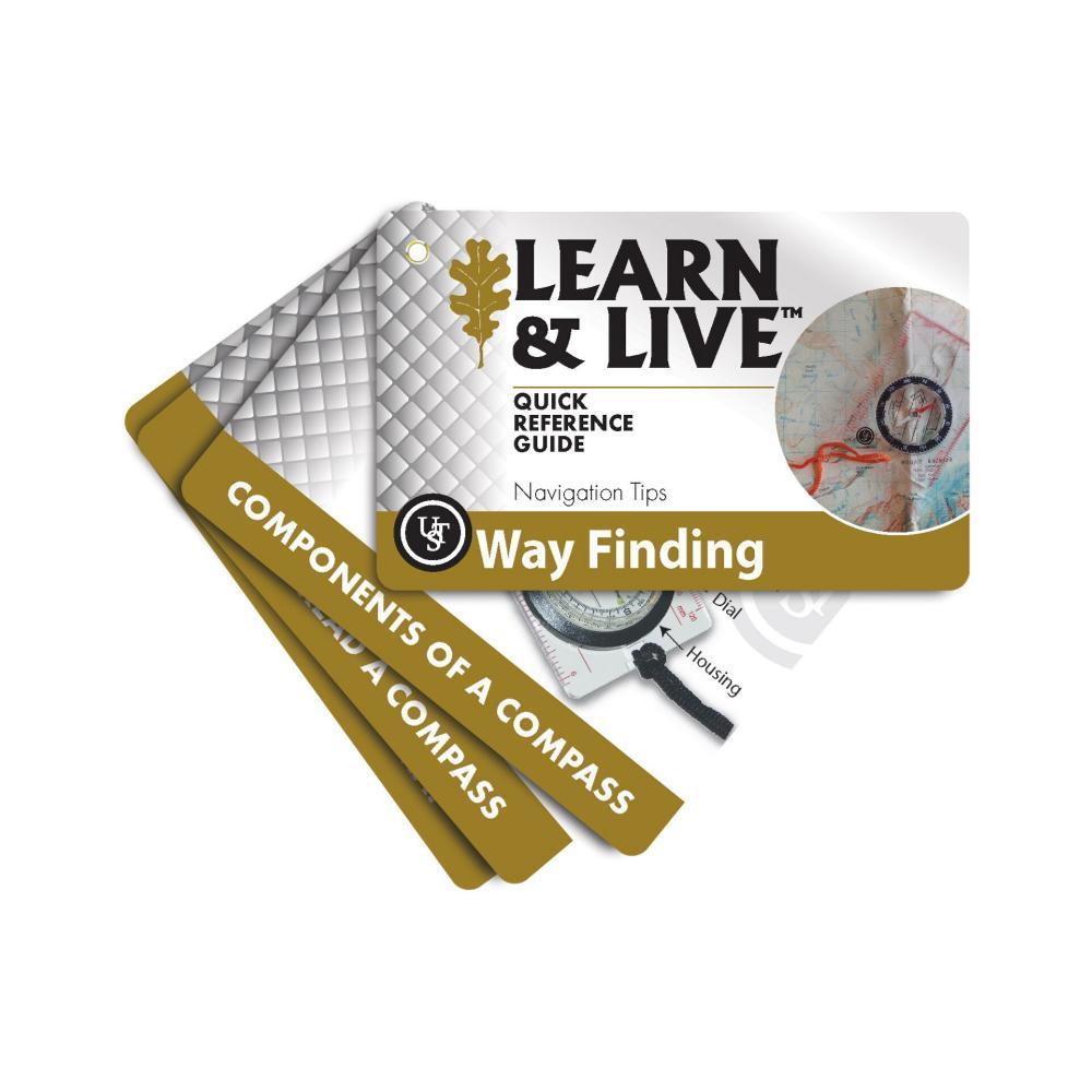 Ultimate Survival Technologies Learn & Live Cards - Way Finding BRN/WHT