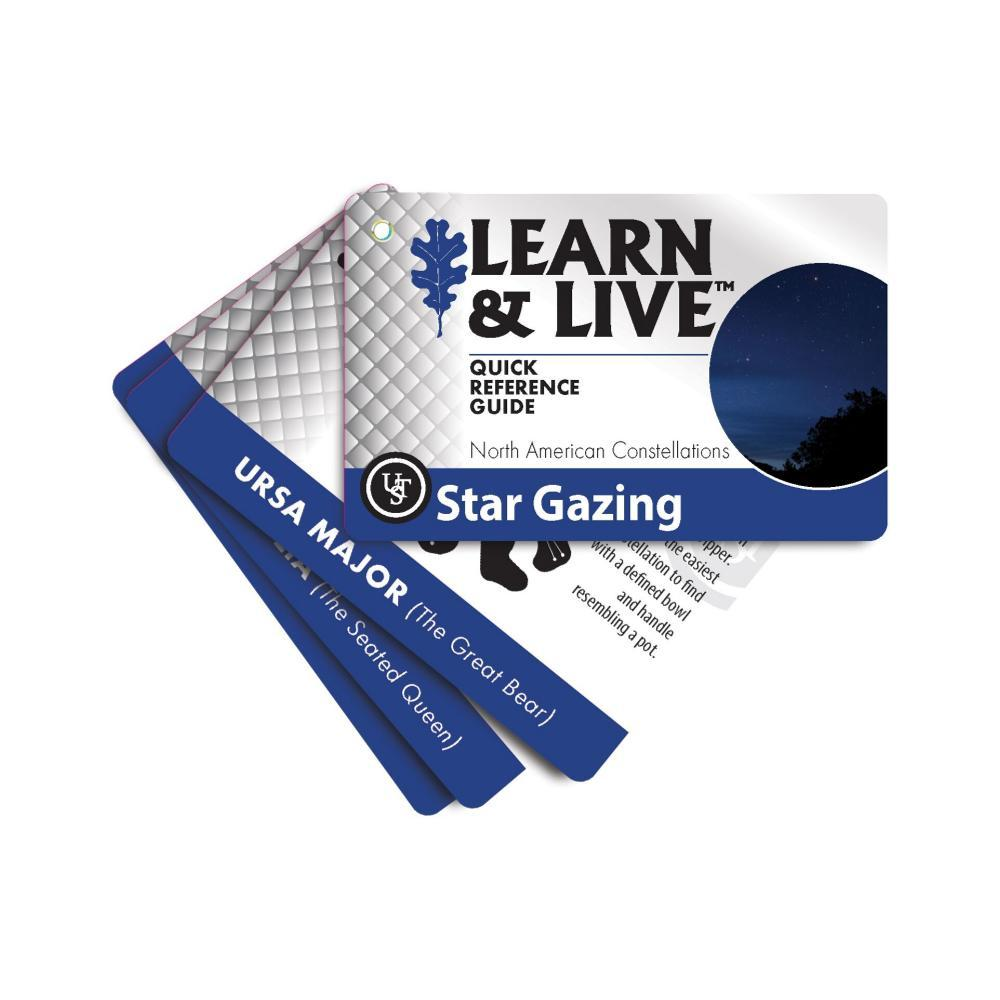 Ultimate Survival Technologies Learn & Live Cards - Star Gazing  BLU/WHT